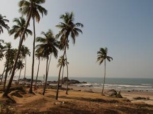 Vagator Beach, Norra Goa
